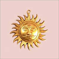 Brass Sun Decorative Hanging