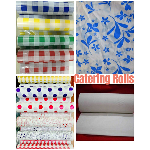 Plastic Table  Catering Roll ( Plain And Printed)