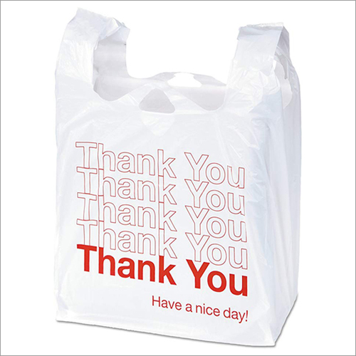 Thank You Plastic Shopping Bags