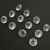 4mm Crystal Quartz Faceted Round Loose Gemstones