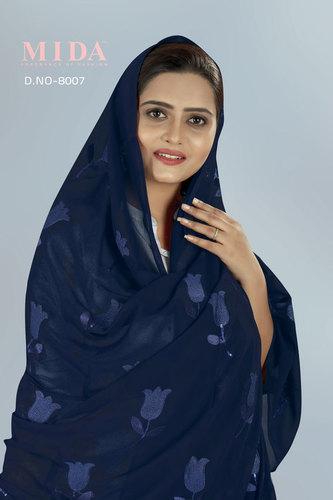 Fancy Nigerian Muslim Women Sequins Veil