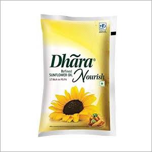 1 Ltr Dhara Sunflower Oil
