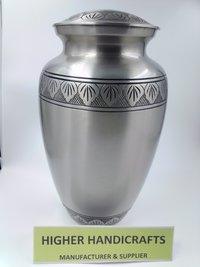 Pewter Finish Cremation Urn