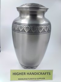 Pewter Finish Classic Cremation Urn