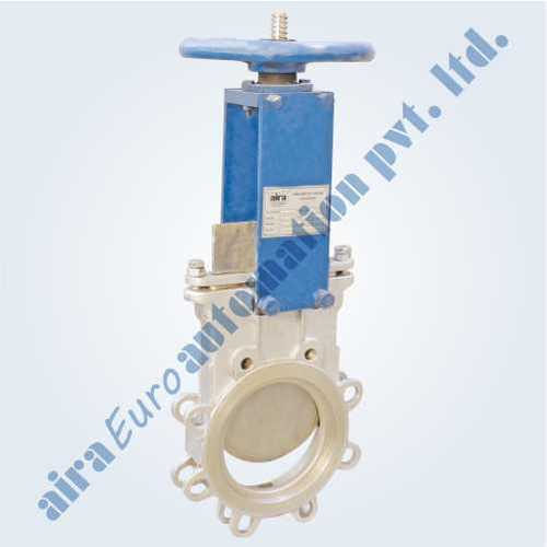 Hand Lever Knife Edge Gate Valve