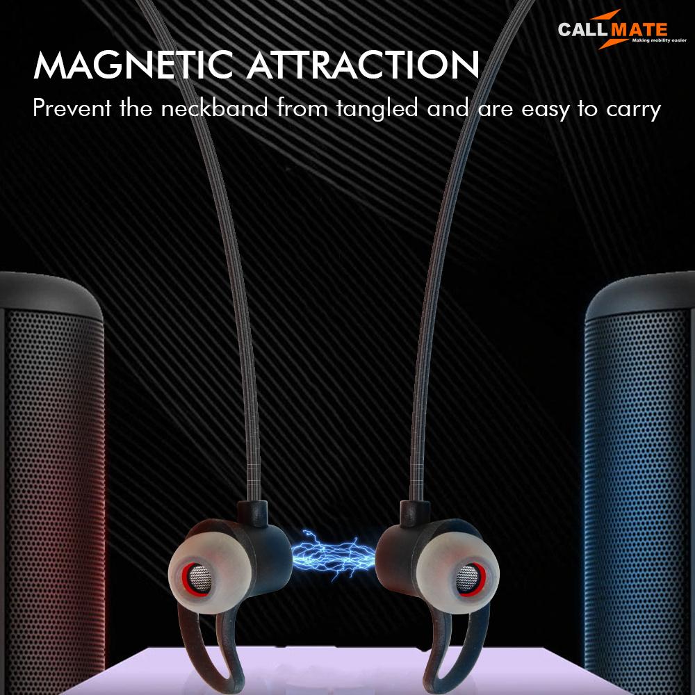 V26 Bluetooth Earphone Neckband