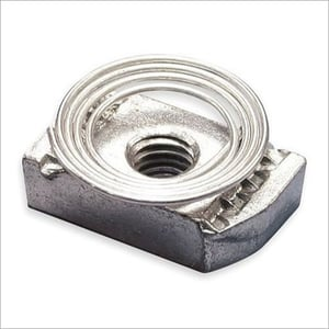 Conical Spring Channel Nuts
