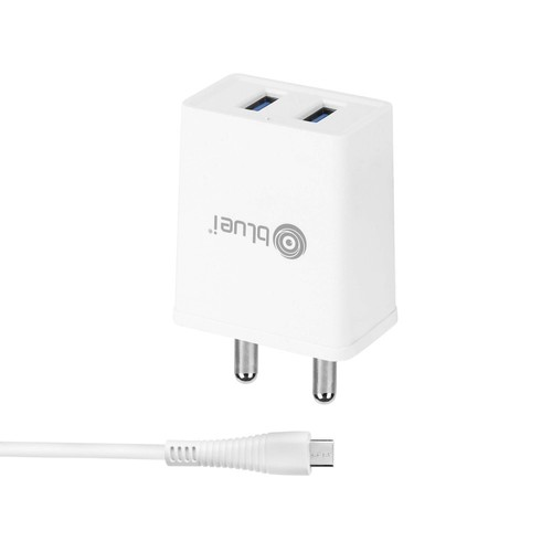 Bluei Bi-di-hc- 304 3.1 A, Dual Usb Mobile Charger