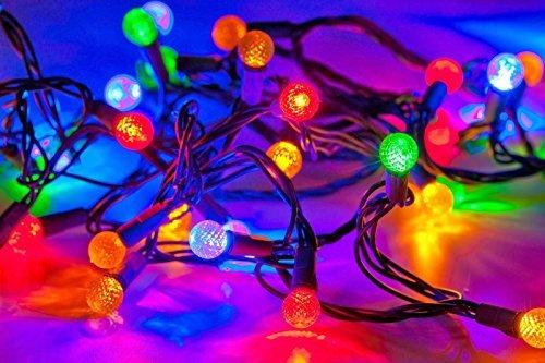 30 Led Solar Figured Ball Decorative String Outdoor Light