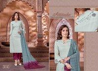 Naysha Designer Cotton Fabrics Kurtis