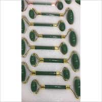 Green Jade Face Massager Roller