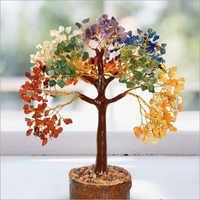Gemstone Seven Chakra Tree