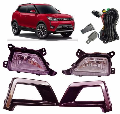 Car Fog Light With Chrome Bezel For New Mahindra XUV300