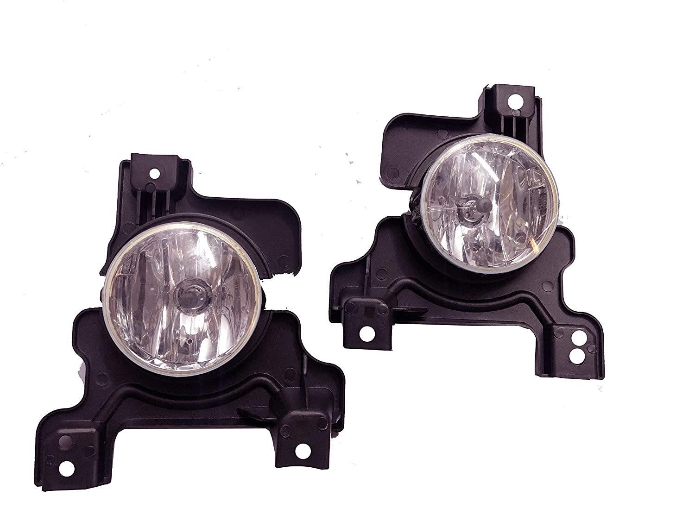 Car Fog Light With DRL For Mahindra Scorpio Type-4 Make (2018)
