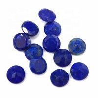 6mm Lapis Lazuli Faceted Round Loose Gemstones