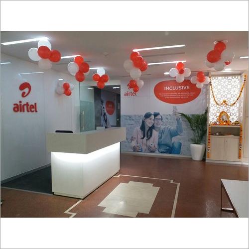 Reception Interior Designing Services