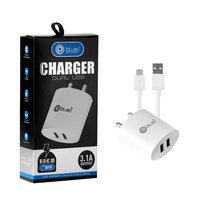 Bluei Bi-di-hc- 305 3.1a, Dual Usb Mobile Charger