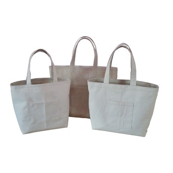 Affordable Price Low Cost High Quality Jute And Canvas Reversible Tote Bag