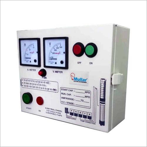 V4 0.50 Single Phase Pump Panel