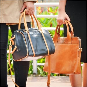 Ladies Casual Leather Hand Bag