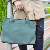 Ladies Pure Leather Hand Bag