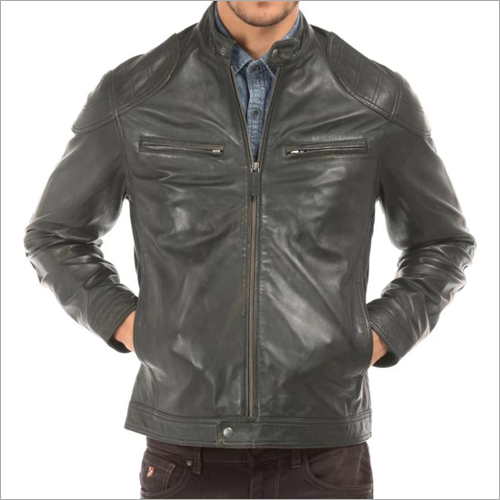 Mens Pure Leather Jacket