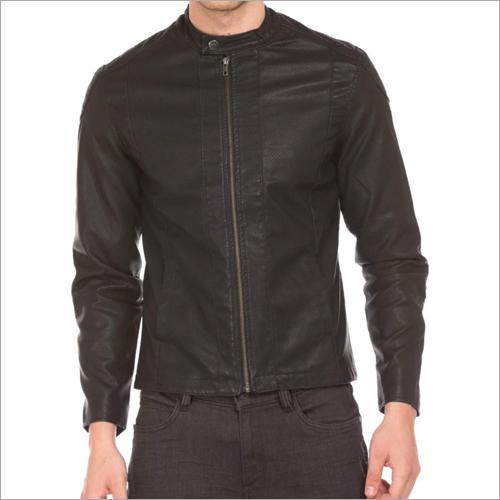 Mens Slim Fit Leather Jacket