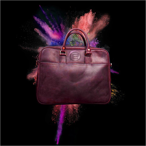 Pure Leather Office Laptop Bag