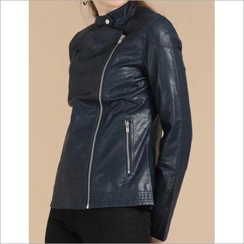 Ladies Slim Fit Leather Jacket