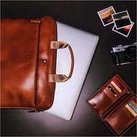 Pure Leather Laptop Bag