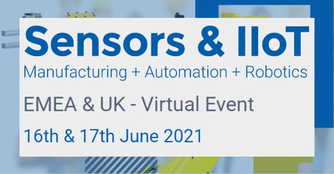 Sensors & IIoT: Manufacturing + Automation + Robotics - EMEA & UK