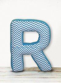 Alphabet Shape Cushion