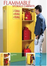 90 Gallon Flammable Storage Safety Cabinate