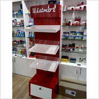 Floor Standing Display Rack