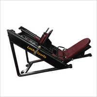 Leg Press + Hack Squat Machine