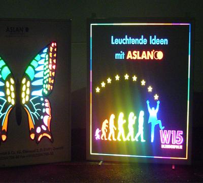 Acrylic LED Block Out Signage