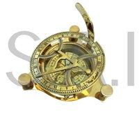 Brass Sundial Compass Nautical Vintage Sundial Compass