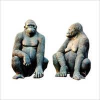 FRP Chimpanzee Statue