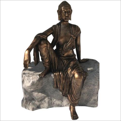 Sitting FRP Buddha Statue