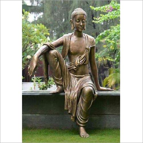 Decorative FRP Sitting Buddha Statue