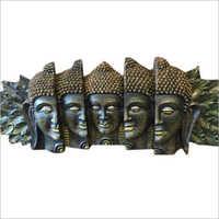 FRP Buddha Face Statue