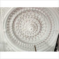 White FRP Temple Ceiling