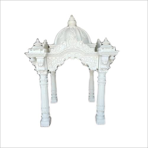 White FRP Temple