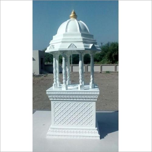Decorative White FRP Temple