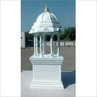 Decorative White FRP Temple