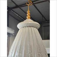 White FRP Temple Dome