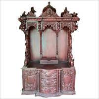Brown Decorative Fiberglass Temple