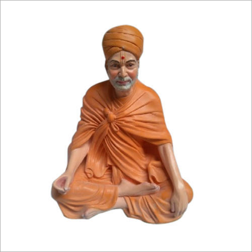 Gossy Finish FRP Guruji Statue