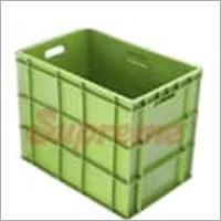 Green Plastic Crate