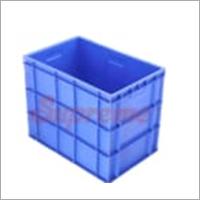 Blue Plastic Crate